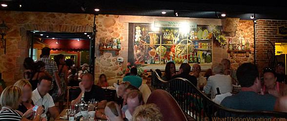 restaurant eating wildwood